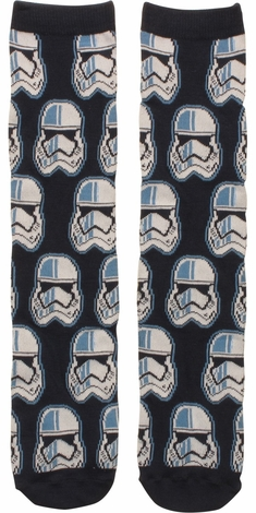 Star Wars Trooper Helmet Crew Socks