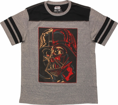 Star Wars Vader Close Up Jersey T-Shirt