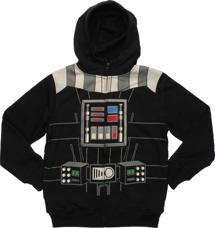 Star Wars Vader Costume Youth Hoodie