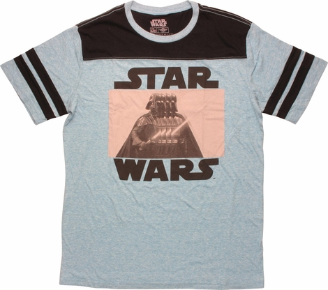 Star Wars Vader Glitch Jersey T-Shirt