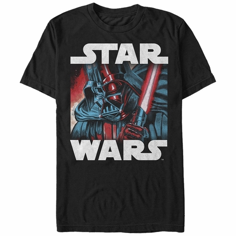 Star Wars Vader Helm Glare T-Shirt