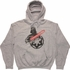 Star Wars Vader Imperial Logo Gray Pullover Hoodie