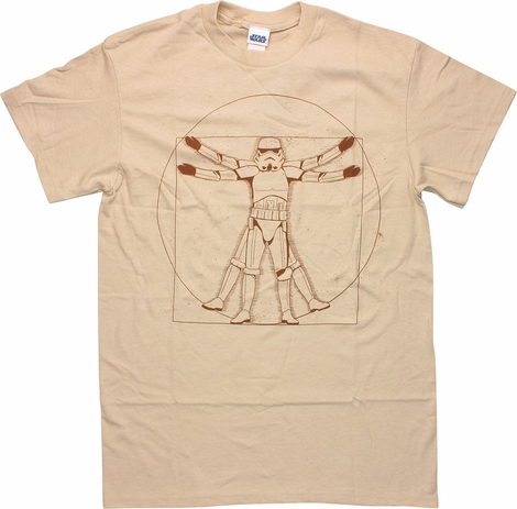 Star Wars Vitruvian Stormtrooper T-Shirt