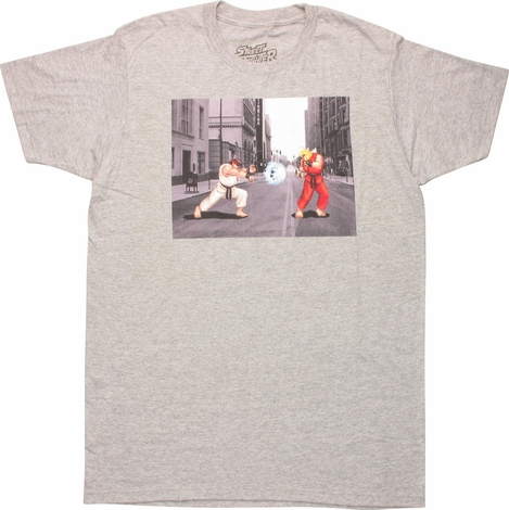 Street Fighter Ryu vs Ken Masters T-Shirt