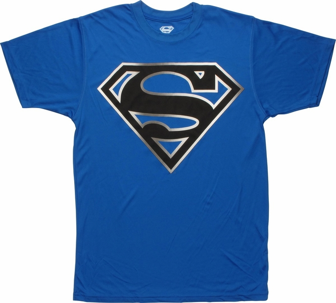 Blue Superman Logo T Shirt Awesome Graphic Library