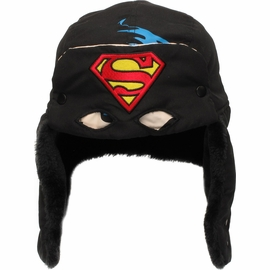 Superman Flip Down Mask Trapper Hat
