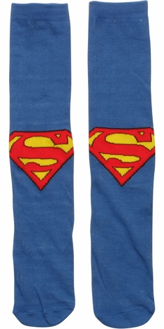 Superman Logo Crew Socks