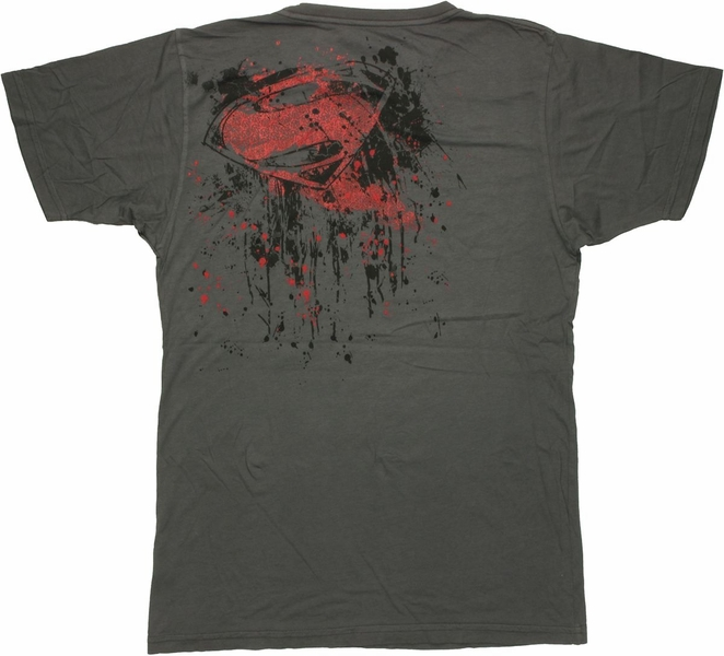 Superman man of steel inked t shirt sheer for Man of steel t shirt online
