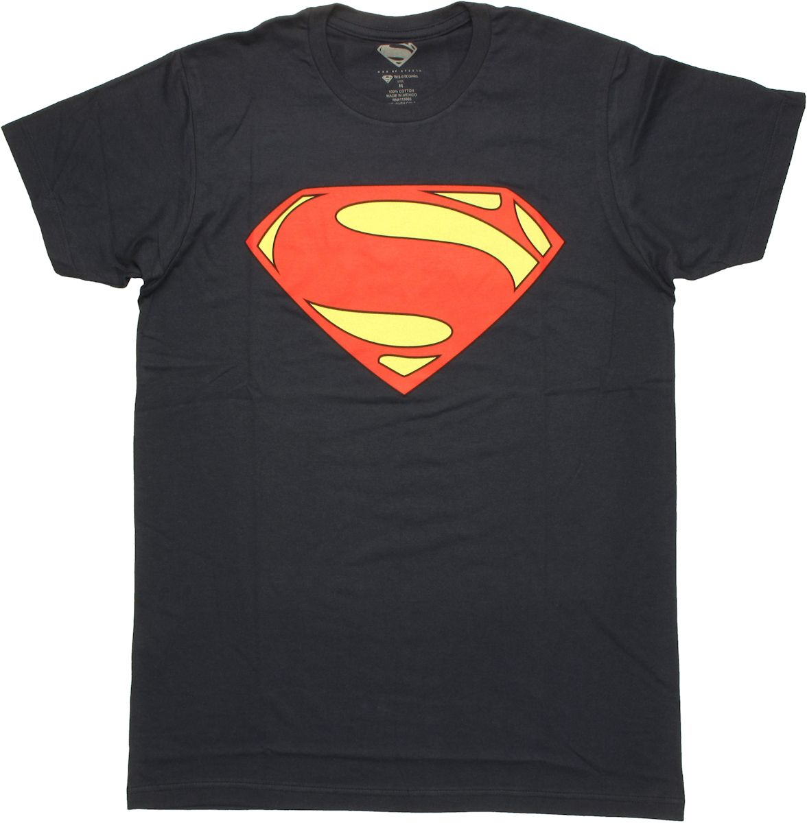 Superman man of steel simple logo t shirt sheer for Man of steel t shirt online