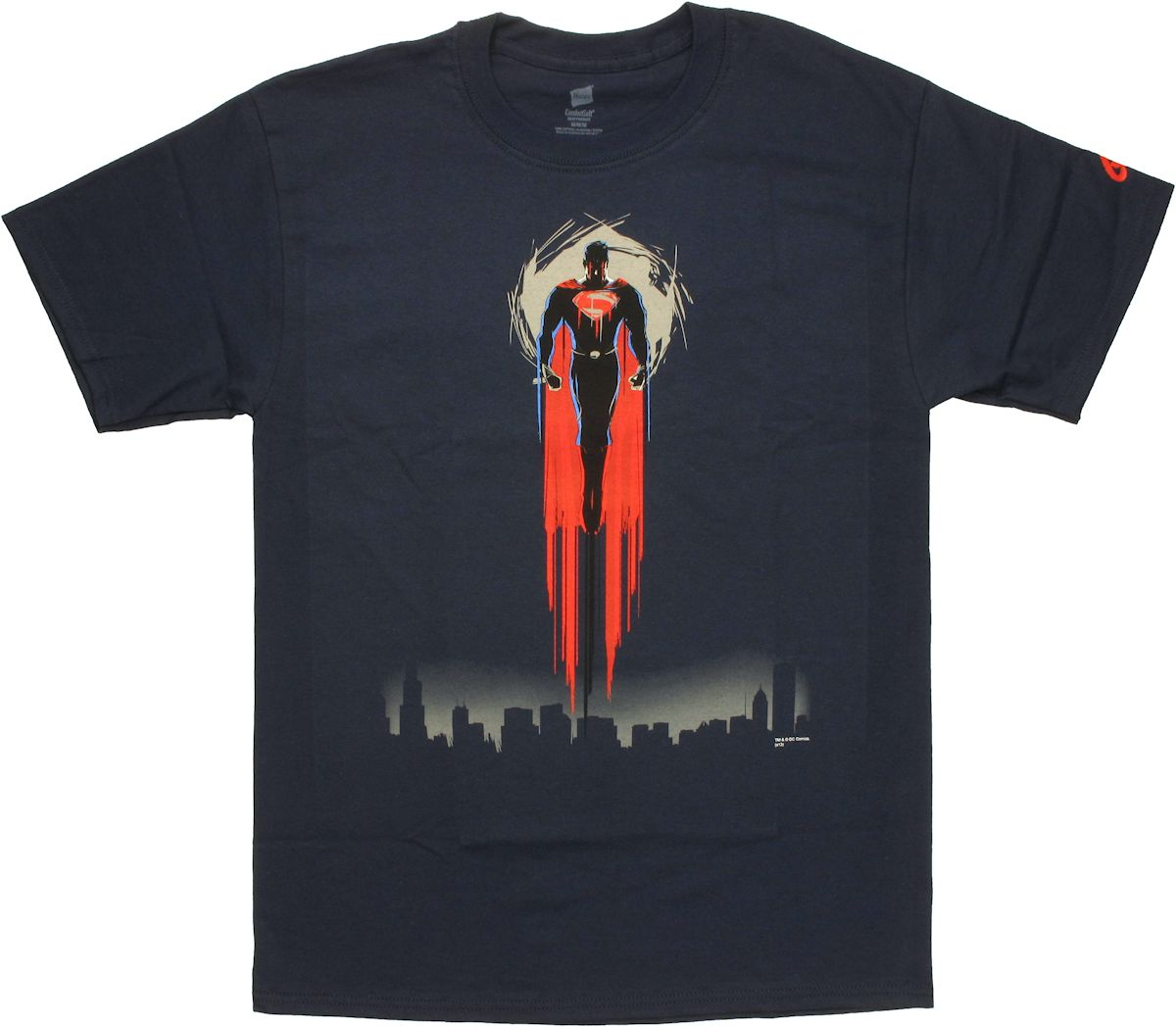 Superman man of steel soaring t shirt for Man of steel t shirt online