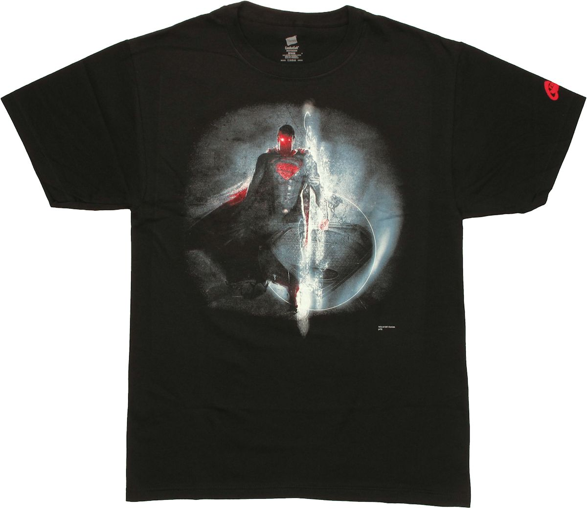 Superman man of steel space t shirt for Man of steel t shirt online