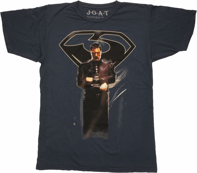 Superman man of steel zod navy t shirt sheer for Man of steel t shirt online