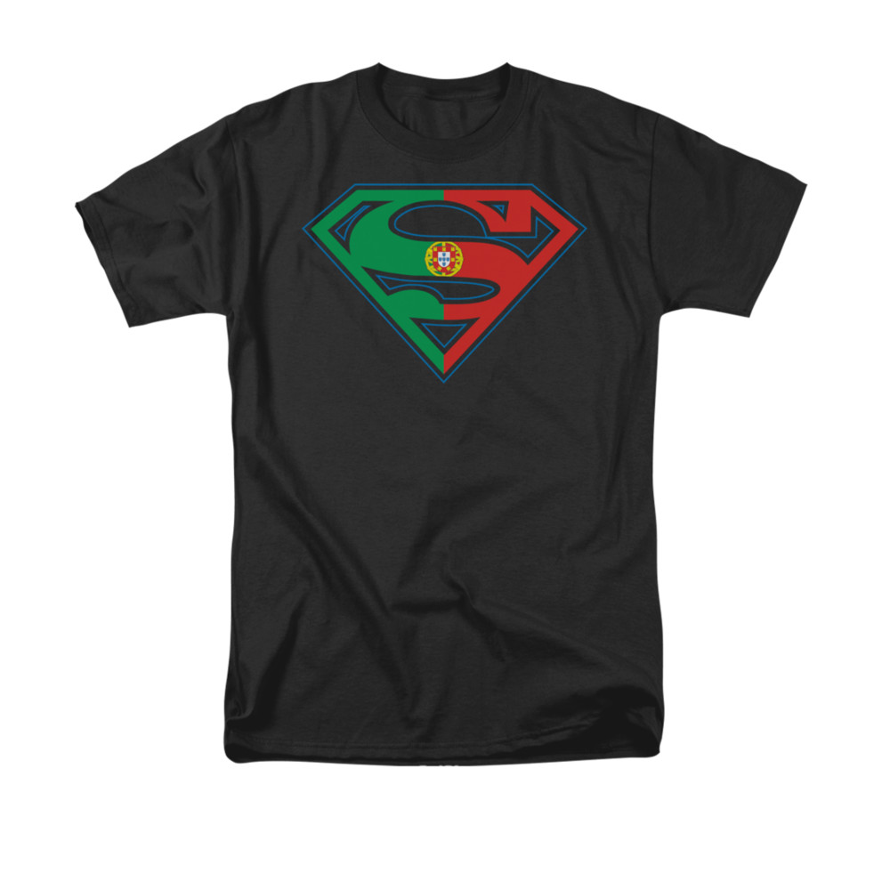 superman portugal shield t shirt. Black Bedroom Furniture Sets. Home Design Ideas