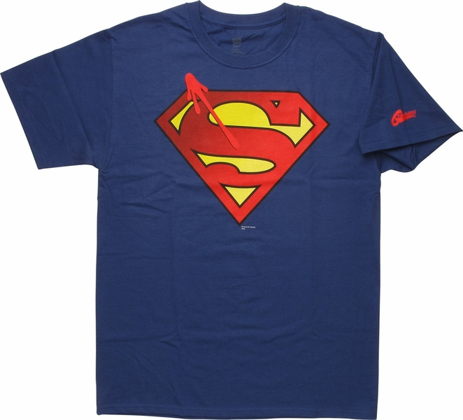 Superman Watchmen Symbol Logo T Shirt