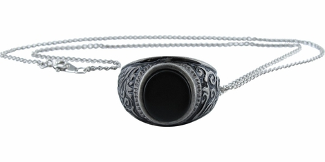 Supernatural Famine Ring Pendant Necklace