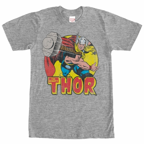 Thor Mighty Hammer Heather T-Shirt
