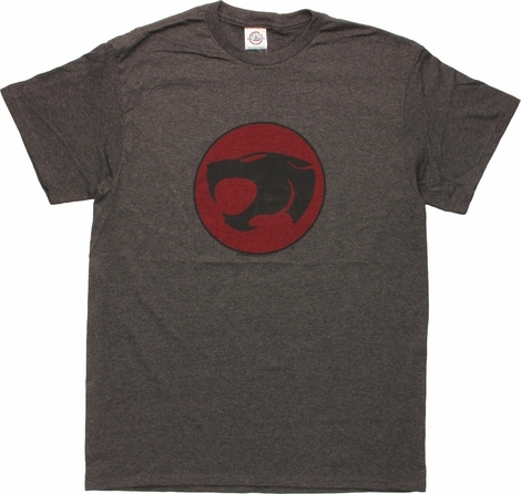 Thundercats Basic Logo Heather T-Shirt