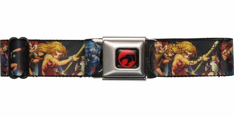 Thundercats Heroes Battle Stances Seatbelt Mesh Belt