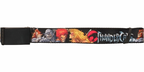 Thundercats Heroes Black Mesh Belt