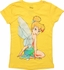 Tinker Bell Look Back Juvenile T Shirt