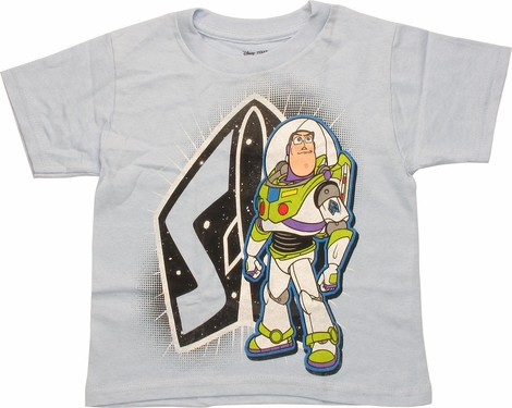 Toy Story Buzz Lightyear and Logo Juvenile T-Shirt
