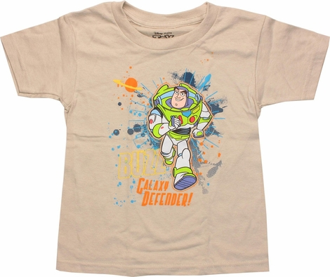 Toy Story Buzz Lightyear Defender Toddler T-Shirt