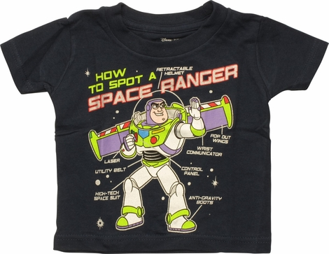 Toy Story Buzz Space Ranger Infant T-Shirt