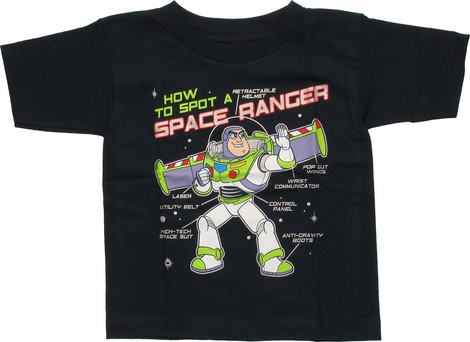 Toy Story Buzz Space Ranger Toddler T-Shirt