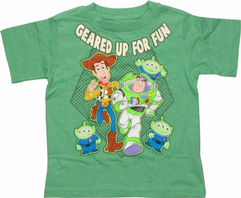 Toy Story Geared Up For Fun Toddler T-Shirt