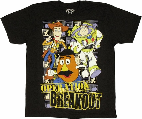Toy Story Operation Breakout T Shirt Sheer