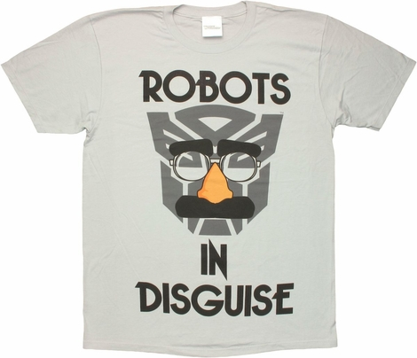 Transformers Autobot Disguise T Shirt Sheer