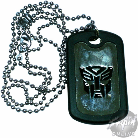 Transformers Autobot Dog Tag