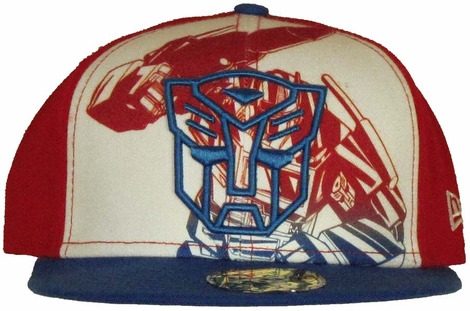 Transformers Outline Autobot Logo 59FIFTY Hat