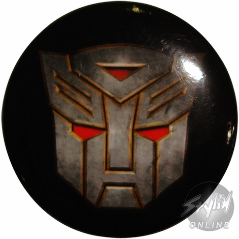 Transformers Autobot Movie Button