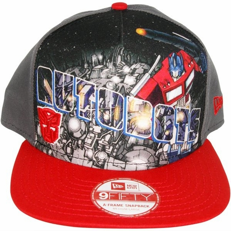 Transformers Autobot Poster Hat