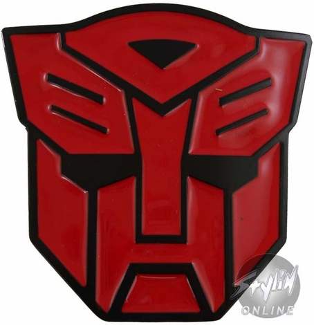 Transformers Autobot Red Buckle