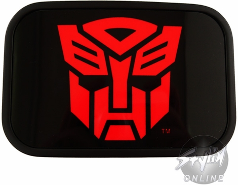 Transformers Autobot Red Symbol Buckle