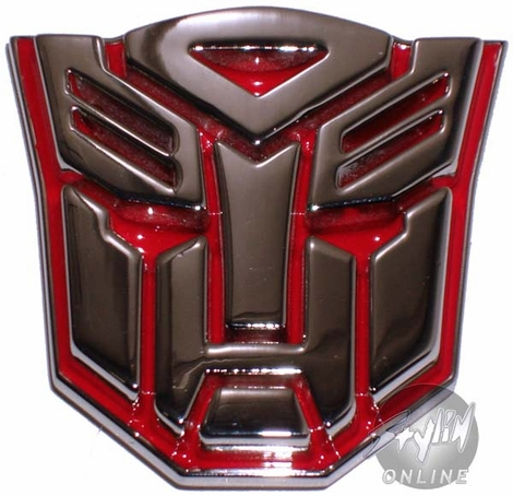 Transformers Autobot Silver Buckle