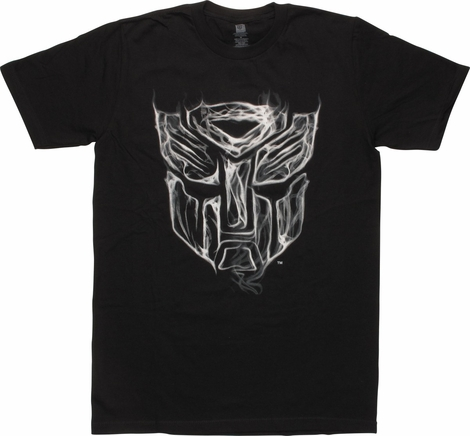 Transformers Autobot Smoky Logo T-Shirt
