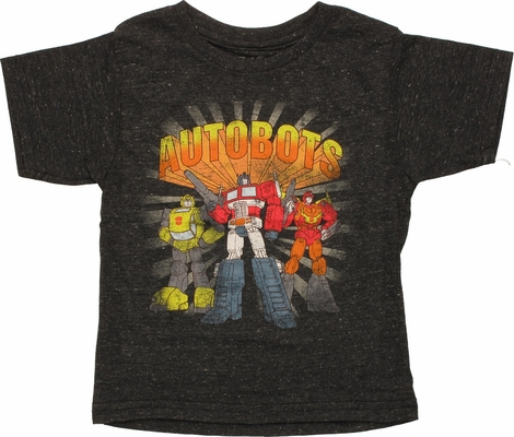 Transformers Autobots Trio Toddler T-Shirt