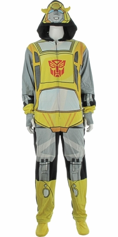 sc 1 st  Stylin Online & Transformers Bumblebee Costume Hooded Union Suit