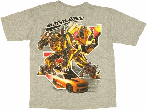 Transformers Bumblebee Car Juvenile T Shirt