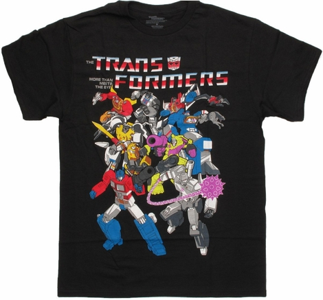 Transformers Classic Group T Shirt