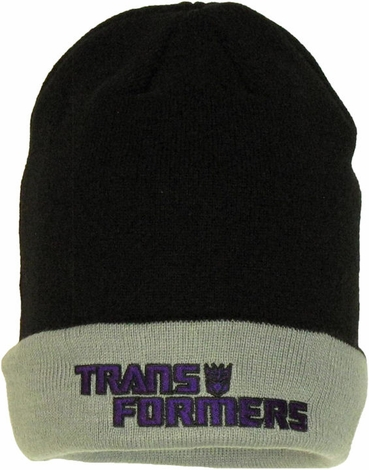 Transformers Decepticon Flip Up Beanie