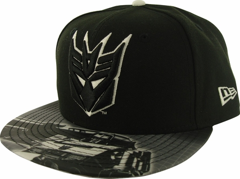 Transformers Decepticon Glow Logo 59FIFTY Hat