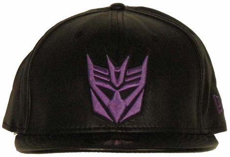 Transformers Decepticon Logo Leather 59FIFTY Hat