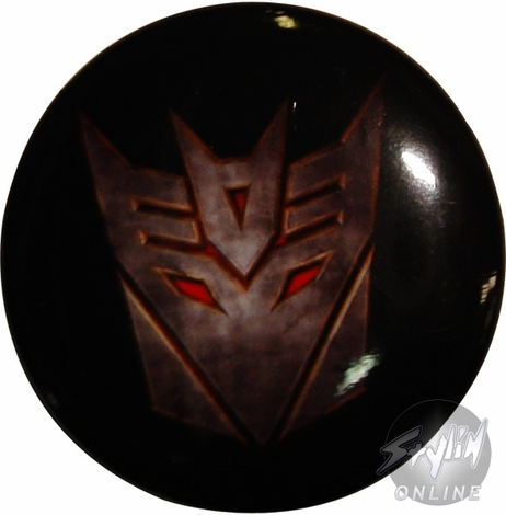 Transformers Decepticon Movie Button