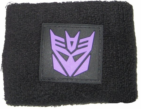 Transformers Decepticon Rubber Patch Wristband