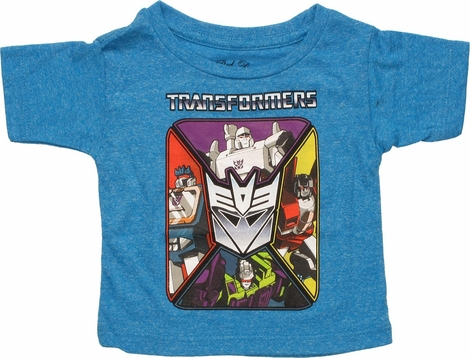 Transformers Decepticon Square Infant T-Shirt