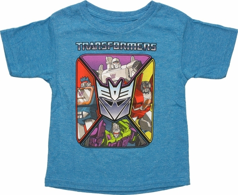 Transformers Decepticon Square Toddler T-Shirt